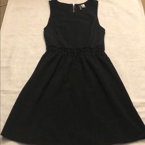 Little black dress with cute waist detail